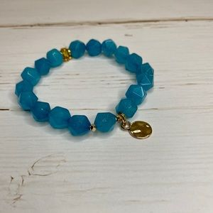 Erimish Dreamscape Single Blue Stone Bracelet